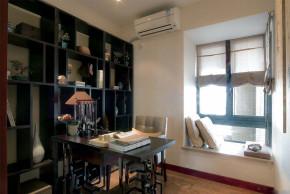 中式 底蕴 温文尔雅 温馨 舒适 书房图片来自成都生活家装饰在144平书香门第3居室的分享