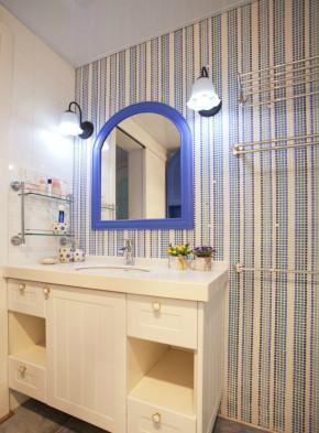 温馨 舒适 文艺 田园 卫生间图片来自成都生活家装饰在白领110平温馨舒适小天地的分享