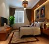 三居室现代中式风格装修