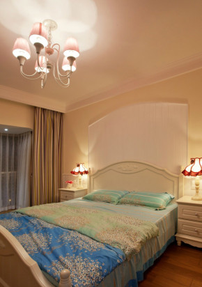 温馨 舒适 文艺 田园 卧室图片来自成都生活家装饰在白领110平温馨舒适小天地的分享