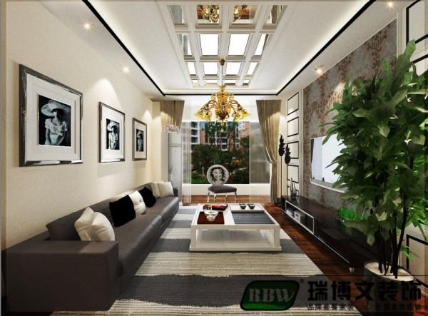 将人与家居环境融合起来,并体现现代家居生活的品质,以舒适作为室内装饰的出发点,舍弃复杂的造型和繁复的装饰,使总体空间大气、优雅而又整洁、宁静。
