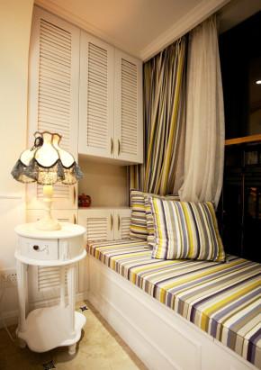 温馨 舒适 文艺 田园 阳台图片来自成都生活家装饰在白领110平温馨舒适小天地的分享