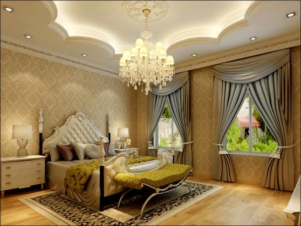 居室在色彩方面秉承了传统美式风格的典雅和华贵。与现代吧台的结合,从而提升了主人的身份与品位