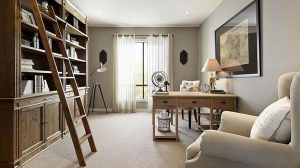 简约 别墅 现代 书房图片来自合建装饰李世超在远洋傲北别墅现代风格的分享