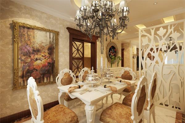 餐厅的主要功能,毋庸置疑--吃饭,整个空间需要温馨,看起来要有食欲,要活动自如,目的舒服。 亮点:带有故事的装饰画,餐边柜,显得空间格外别致,餐桌旁边的窗户、窗帘分别起解决采光与装饰的作用。