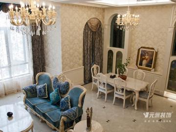 欧式风格别墅装修设计实景样板间
