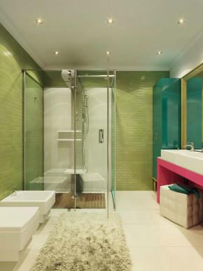 简约 时尚 温馨 舒适 混搭 三居室 卫生间图片来自成都生活家装饰在121平时尚简约混搭风三居室的分享