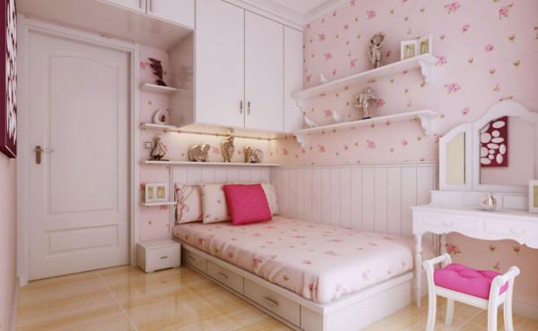 升龙城-两室两厅-女儿房田园-装修效果图