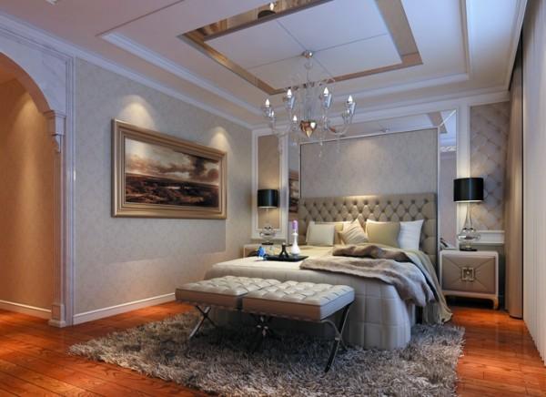 广电兰亭都荟四居室简欧风格--时尚简欧个性的设计格调