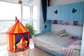 北欧 两居 混搭 小资 儿童房图片来自框框在远洋新悦56平-北欧风格实景的分享