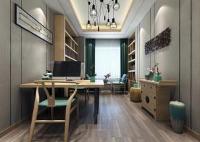 简约 温馨 舒适 品味 美式 小资 书房图片来自成都生活家装饰在110平简约温馨美式3居室的分享