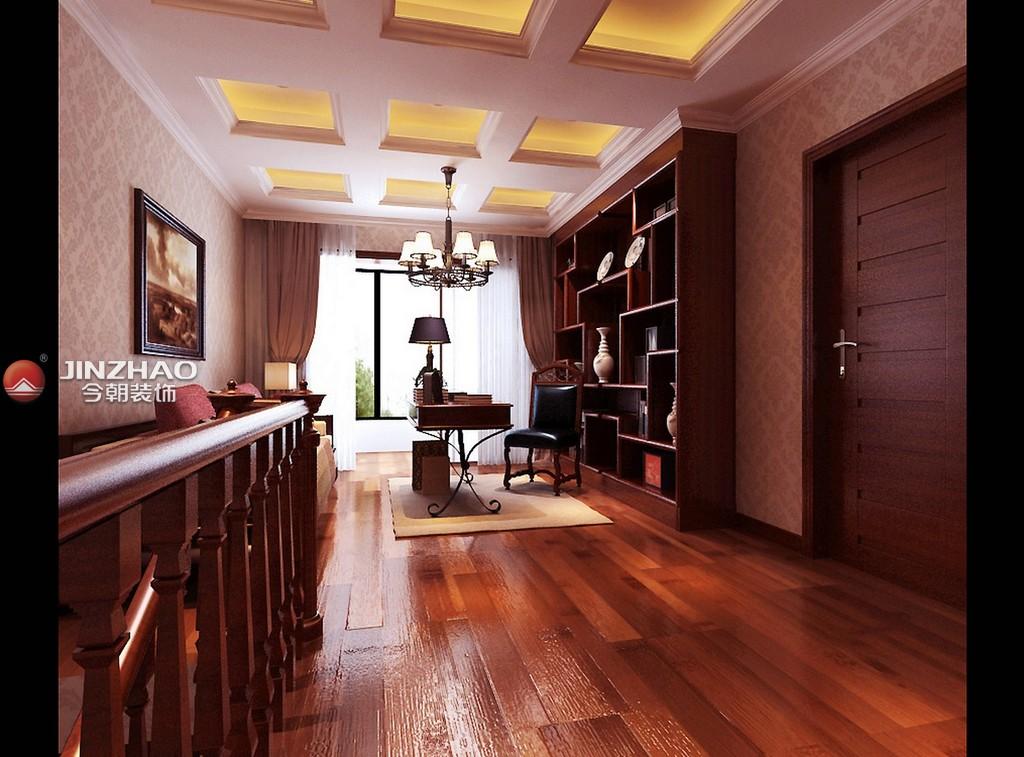 80后 书房图片来自152xxxx4841在海棠家园280平复式的分享