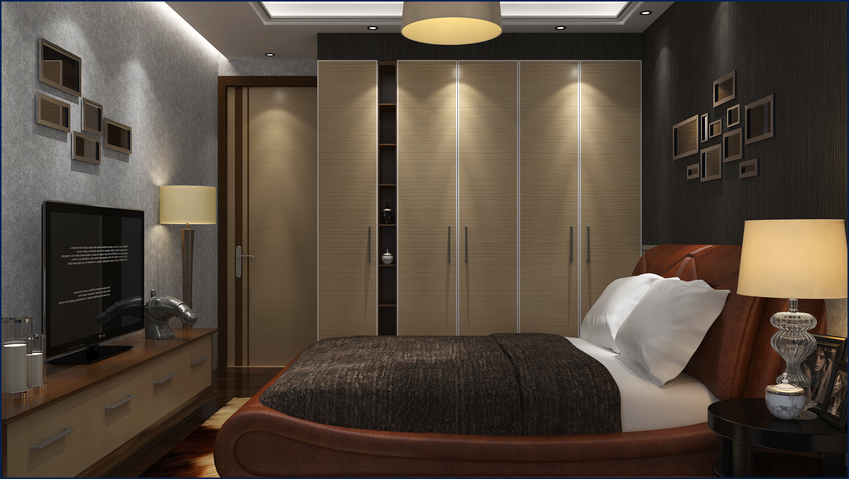 简约 欧式 三居 别墅 卧室 餐厅 艾依格衣柜 整体衣柜 定制衣柜图片来自aiegle在艾依格衣柜——加勒比系列的分享
