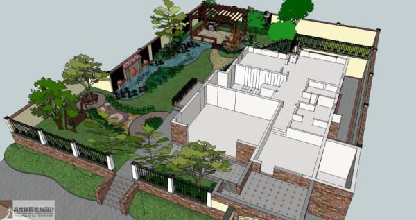 户型图细节图 成都高度国际别墅装饰设计