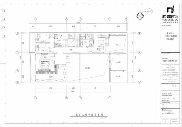 现代中式——平面布局图