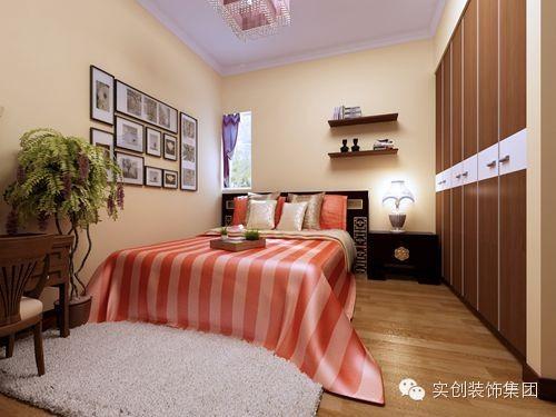 石家庄小户型-60平装修-卧室效果图