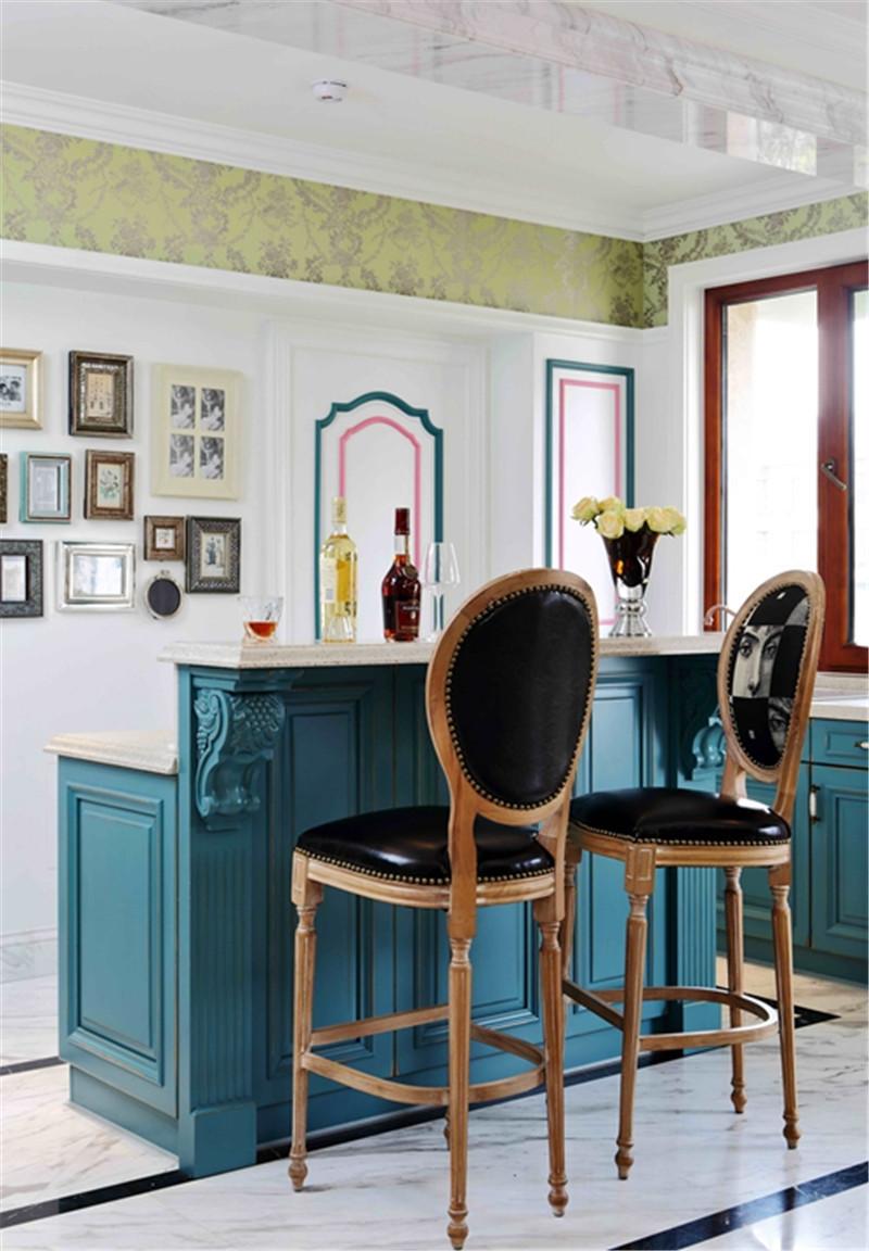 现代美式风格-吧台