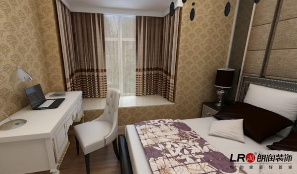 卧室细节,简单大气的色调搭配,一反欧式的繁复,也能高雅舒适,这是设计师的精心打造!