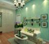 麻雀户型60平一室一厅装修效果图
