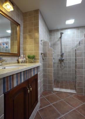 美式 温馨 舒适 3居 80后 小资 卫生间图片来自成都生活家装饰在132平温馨舒适美式3居室的分享