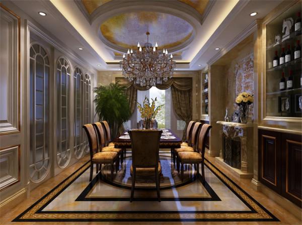 北京别墅装修——新奢华风格