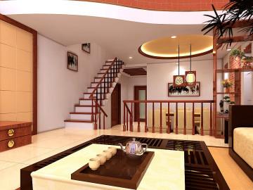浓郁的古典风格的家居环境