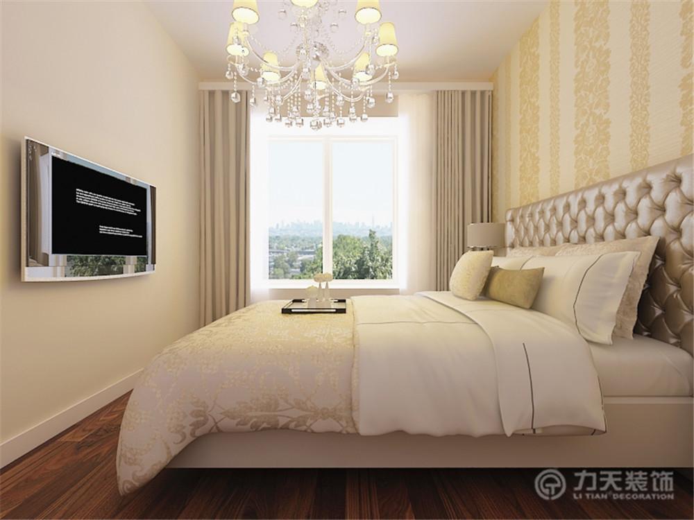 简约 一居 白领 收纳 80后 小资 卧室图片来自阳光力天装饰在米兰阳光-53.00㎡-现代简约的分享