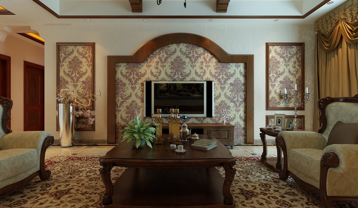 欧式 田园 小资 白领 旧房改造 其他图片来自元洲装饰小左在建邦花园120平米欧式田园的分享