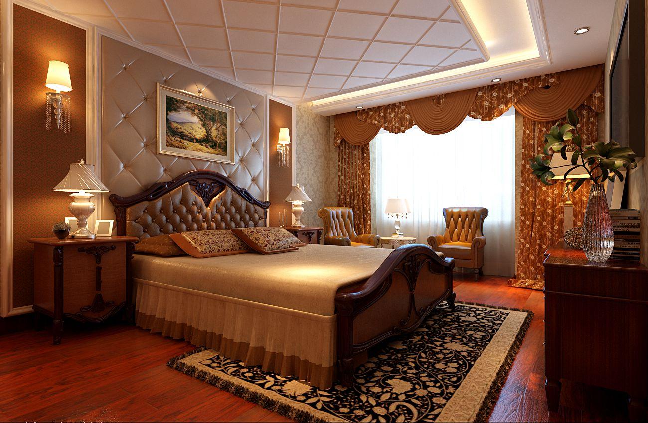 欧式 四居 白领 奢华 浪漫 温馨 卧室图片来自实创装饰都琳在北坞嘉园146平雅典娜的浪漫的分享