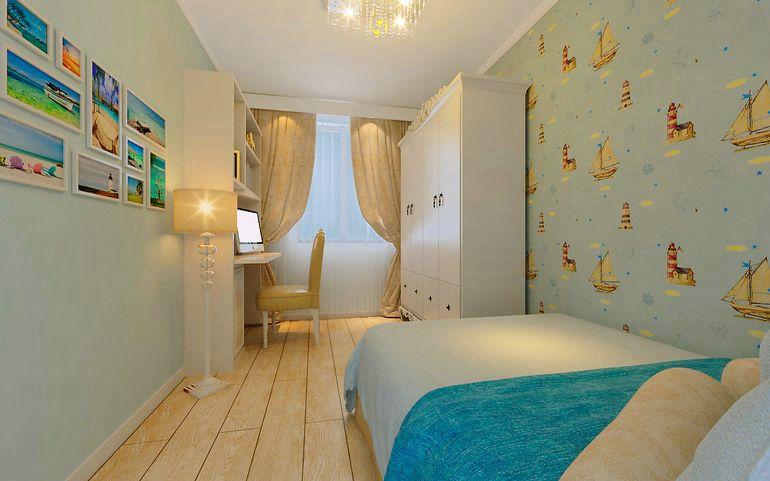 田园 二居 白领 收纳 旧房改造 80后 小资 卧室图片来自名仕装饰-小飞在长航蓝晶绿洲的分享
