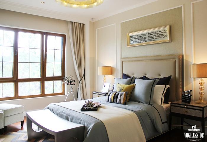 白领 别墅 卧室图片来自尚层别墅设计在悦溪镇样板间休闲式浪漫别墅的分享