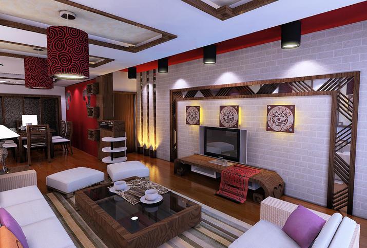 客厅 客厅装修 三居 简约图片来自刘建勋在客厅设计专辑的分享