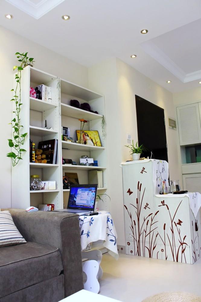 混搭 二居 白领 80后 慕尚族 装修设计 客厅图片来自慕尚族在百瑞景 混搭风格  清新格调的分享