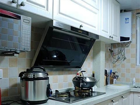 二居 旧房改造 石景山 美式 80后 厨房图片来自今朝装饰老房装修通王在4.2万打造90平美式婚房的分享
