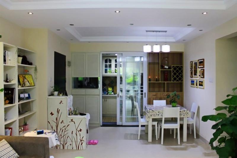 混搭 二居 白领 80后 慕尚族 装修设计 餐厅图片来自慕尚族在百瑞景 混搭风格  清新格调的分享
