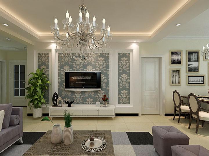 客厅图片来自石家庄瑞博文装饰小然在西山绿岛110平现代简约的分享