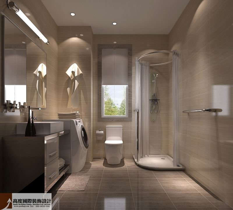 简约 欧式 田园 混搭 二居 三居 白领 卫生间图片来自成都高度国际在4万 97㎡ 装修必看两室一厅的分享