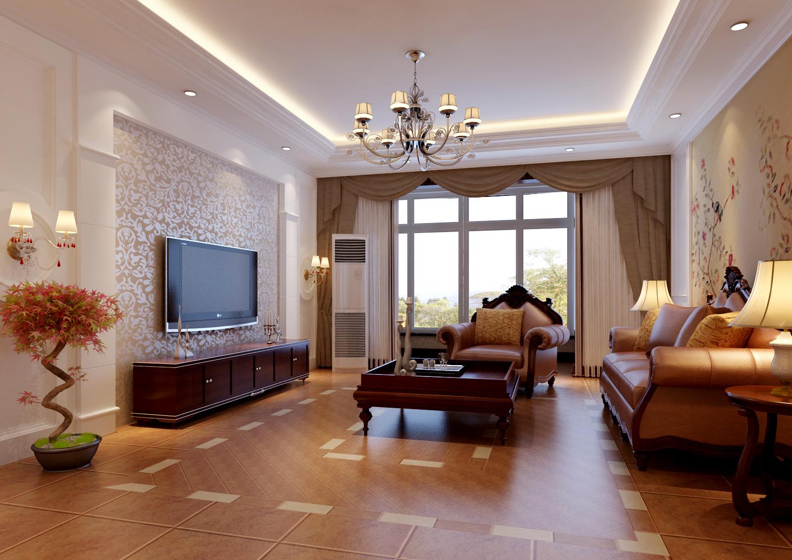 欧式 简约 二居 收纳 旧房改造 客厅图片来自今朝装饰老房专线在老房翻新,两居室,简欧风格的分享