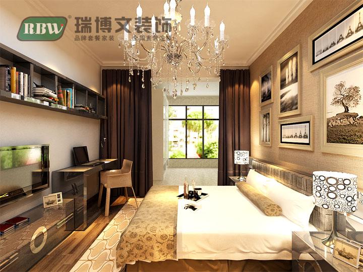 卧室图片来自石家庄瑞博文装饰小然在西山绿岛110平现代简约的分享