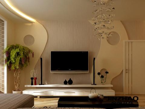 客厅图片来自石家庄装饰家美1在时尚精装两居室-现代风格的分享