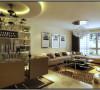 在室内空间中,像入户过道和客厅的设计是比较重要的。