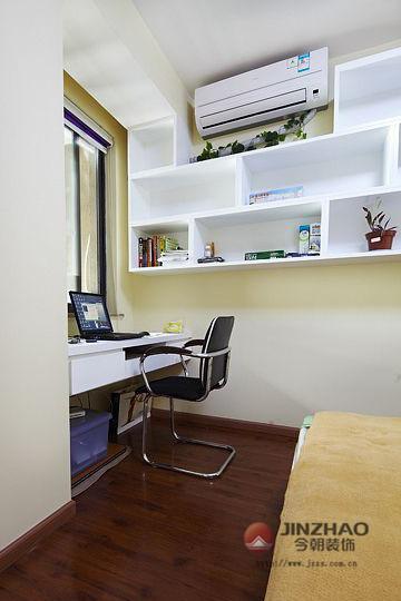 新房装修 旧房改造 局部装修 现代风格 简约风格 混搭风格 书房图片来自周海真在中坤小区 旧房改造  现代简约的分享