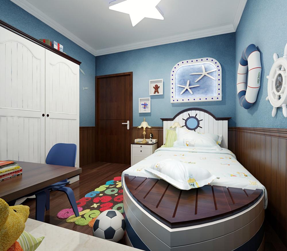 混搭 三居 收纳 白领 80后 卧室图片来自装饰装修-18818806853在122平米保利西海岸三居的分享
