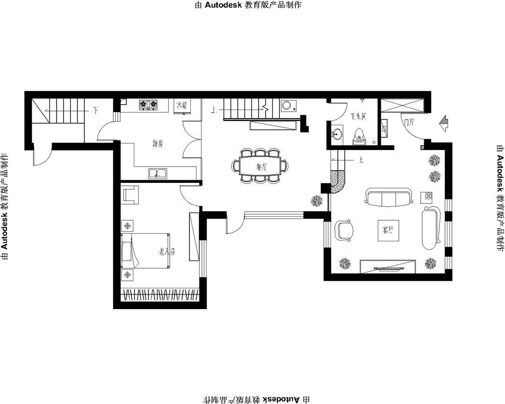 欧式 别墅 收纳 白领 80后 小资 户型图图片来自实创装饰完美家装在潮白河孔雀城200平简欧风格赏析的分享
