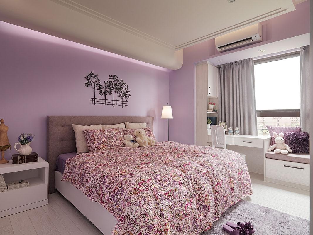 北欧风格 今朝装饰 老房装修 老房改造 二居室装修 装修设计 卧室图片来自北京今朝装饰在71平米老房北欧休闲风的分享