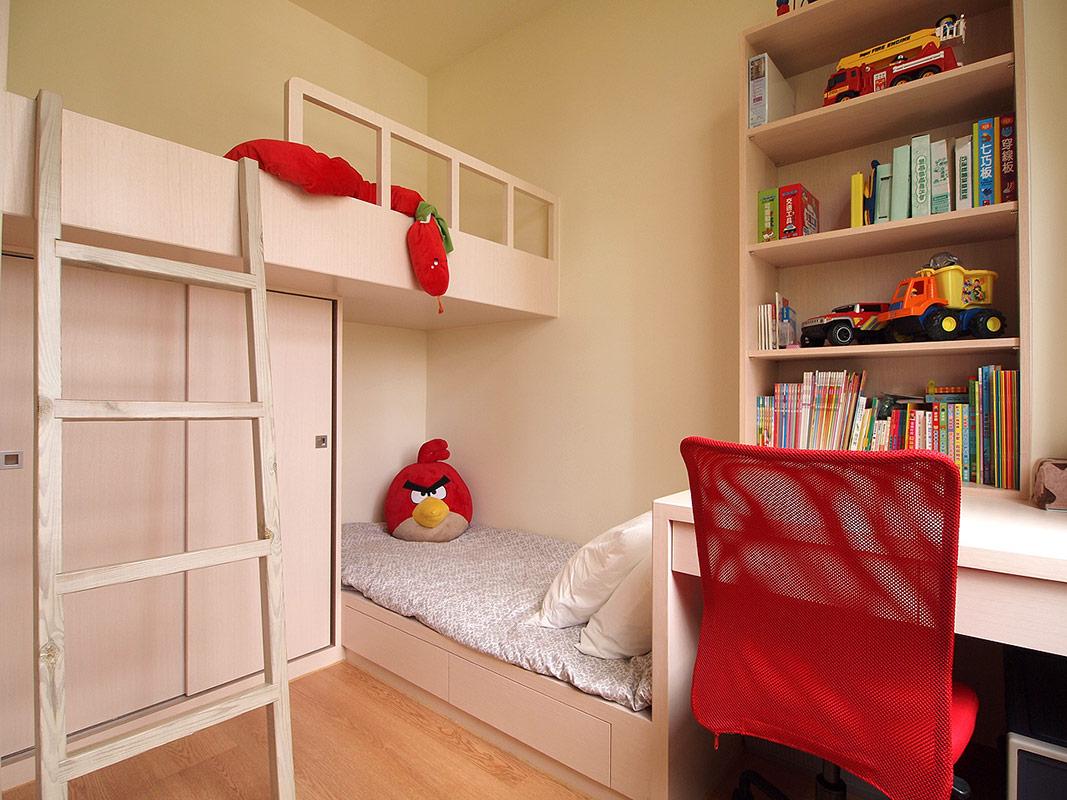 宝蓝装饰 琴台墨园 现代简约 80后 小资 儿童房图片来自众意装饰在新长江香榭琴台墨园的分享