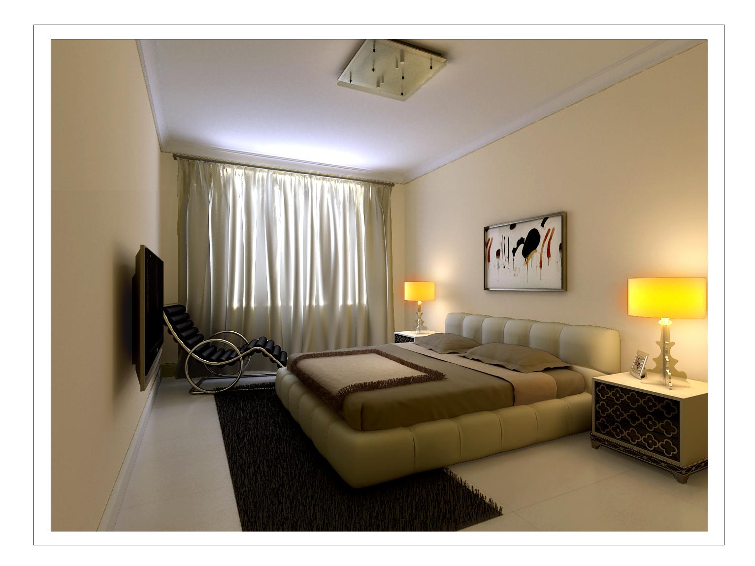 简约 三居 卧室图片来自今朝装饰小俊在有爱有家的分享