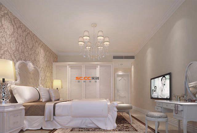 法式 5居 白领 80后 浪漫 奢华 卧室图片来自实创装饰都琳在华侨城的分享