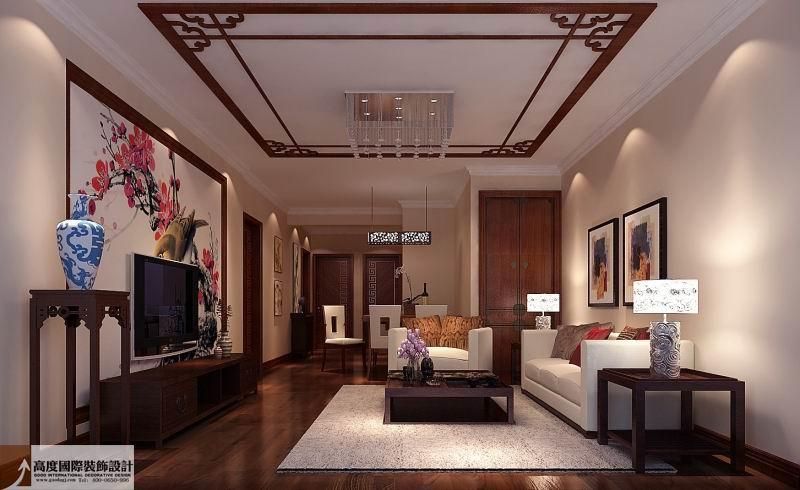 简约 欧式 田园 混搭 二居 三居 白领 客厅图片来自成都高度国际在4万 97㎡ 装修必看两室一厅的分享