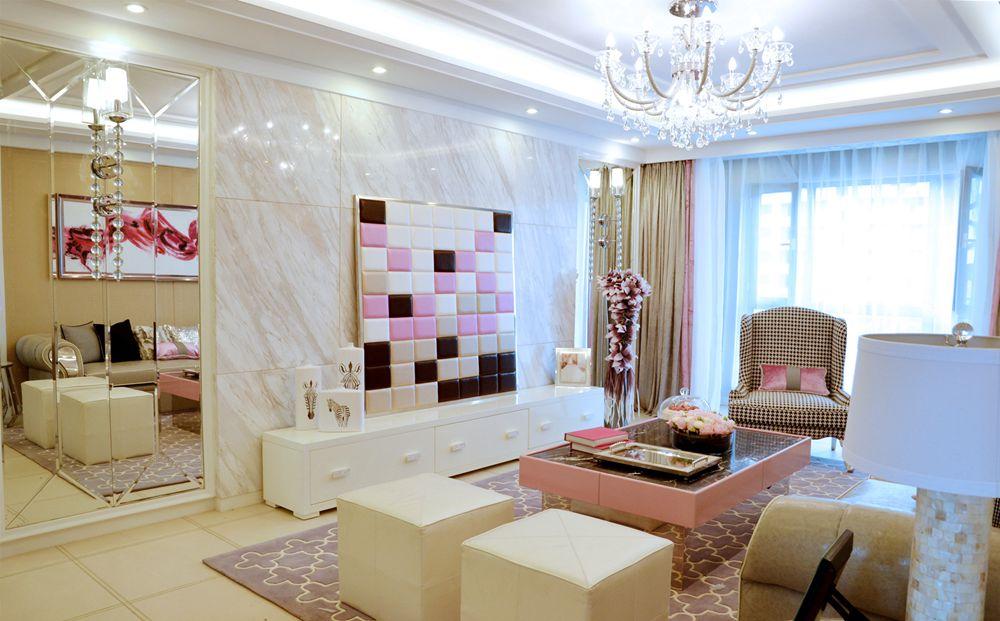 田园 简约 现代 公寓 餐厅 卧室 客厅 客厅图片来自尚层装饰大林在加州华府妙趣横生的分享